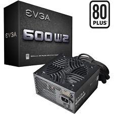 EVGA 600 W2 80+ WHITE 600W, PC-Netzteil, schwarz