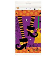 SPOOKY BOOTS Halloween Party Supplies 54 X 84 Plastic TABLECOVER