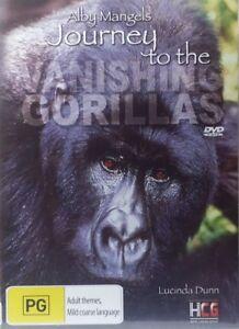 Alby Mangels DVD Journey To The Vanishing Gorillas RARE - Animal Documentary