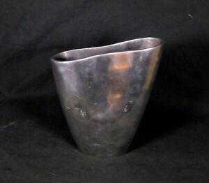 Anna Efverlund (IKEA) Aluminum Cast Vase Vintage
