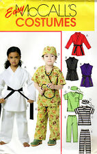 "2010 McCall's Pattern MP439 ""Children's, Boys' & Girls' Costumes"" UNCUT 2-3-4-5"