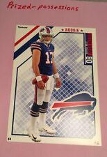 "JOSH ALLEN Buffalo Bills w/ Logo 2018 NFL Fathead 5"" X 7"""