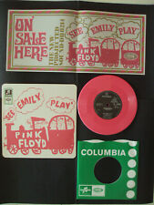 PINK FLOYD See Emily play / Scarecrow Pink 45 RPM 7 inch RSD 2013 + Poster NM