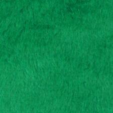 Fake fur Faux fur Faux fur Fabric Grass Green short Hair