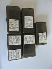 MIDWAY Plastic Ammo Boxes (5) each (45/40 Cal) Used