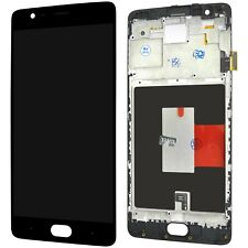OLED OnePlus 3 Three A3000 A3003 AMOLED LCD Display Touchscreen + Mit Rahmen