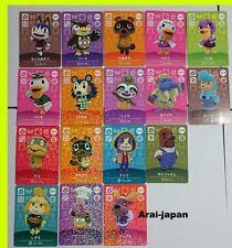 New amiibo card No.3 SP all x 17 P animal crossing third 3rd No3 series3 shizue