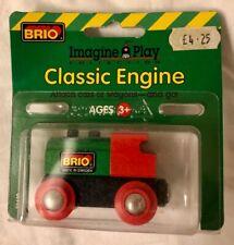 Brio Classic Engine Wooden Train  New Vintage Sweden