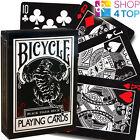BICYCLE BLACK TIGER RED PIPS ELLUSIONIST PLAYING CARDS DECK MAGIC TRICKS USPCC