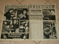 EUROPEO 1949/51=BRUNO CORNACCHIOLA=PAPA=GINA LOLLOBRIGIDA=ELSA MORANTE=