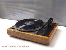 LINN SONDEK LP12  MONGOY wood PLINTH /CUSTOM SOLID WOOD PLINTH FOR LINN LP 12