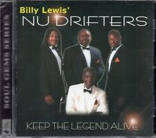 Billy Lewis Nu Drifters - Keep The Legend Alive (2005 CD) New & Sealed