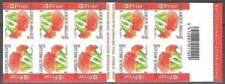 Belgium**CARNATION-Flowers-Booklet 10vals Carnet-Oeuillet-Fleur-2004-Anjer-Nelke