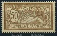 FRANCE MERSON N° 120c SANS TEINTE DE FOND NEUF * AVEC CHARNIERE COTE 550€ A VOIR