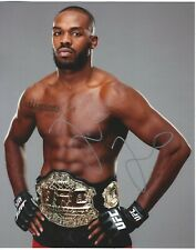 "Jon ""Bones"" Jones Signed UFC Light Heavyweight Champion 8x10 Photo"