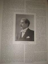 Photo article artist Bernard Partridge 1897