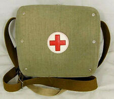 Soviet Russian Army Medic Bag Case FirstAid Field Medical Service USSR Red Cross