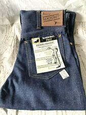 New listing Vintage Pennys Ranchcraft Slim Western Denim Jeans Boys Size 16/26 X 29 New Nos