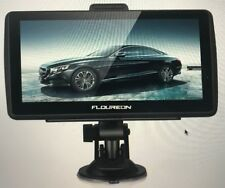 Floureon GPS Navigation For Car 7 Inches 8GB Lifetime Map And Spoke Turn-to-turn