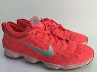 Nike Zoom Fit Agility Lace Up Women Pink Trainers Size UK 6.5 EUR 40.5