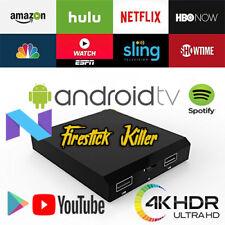 🎞📺 FIRESTICK KILLER - ATV ULTRA 4K Box VOICE SEARCH Android TV Stick Kodi 17.6