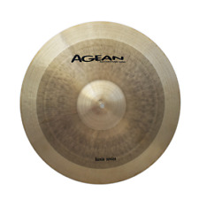 Agean Cymbals Karia Series  22-inch Karia Ride Sizzle/Rivets