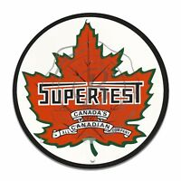 Vintage Design Sign Metal Decor Gas and Oil Sign - Canada's Supertest Gasoline