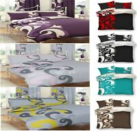 Luxuries GRANDEUR VINTAGE Reversable Duvet Cover+PillowCase Bedding Set All Size