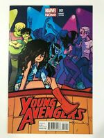 YOUNG AVENGERS #1 (2013) | 1ST FIRST NEW TEAM; O'MALLEY VARIANT
