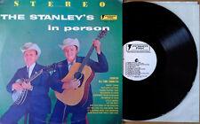 STANLEY BROS. - IN PERSON - POWER PAK - 1975 LP - WHITE LABEL PROMO
