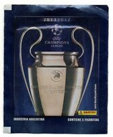 PANINI 2 ENVELOPE STICKERS CHAMPIONS LEAGUE 2011/12 ARGENTINA EDITION