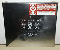 WHILE SHE SLEEPS - YOU ARE WE - SPECIAL EDITION - 2 CD