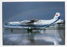Volga Dnepr Airlines Antonov 12 Postcard