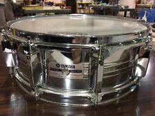 yamaha SG650MG snare drum 14x5.5 chrome metal vintage