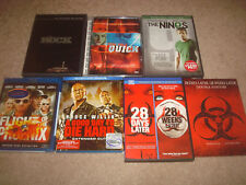 Action Horror Dvd Blu-ray Lot 28 Days Weeks Later Quick Nines The Rock Die Hard