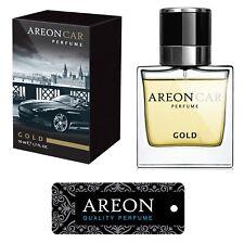 Original Areon LUX Auto Parfüm Lufterfrischer Duftdose Duftbaum GOLD LINE 50 ml