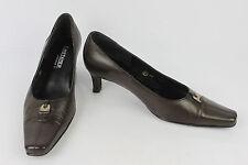 Zapatos J. METAYER Ancho + Piel Marrón T 38,5 MUY BUEN ESTADO