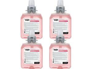GOJO Luxury Foaming Hand Soap Refill Cranberry 42 Fl. Oz. 4/Carton 5161-04