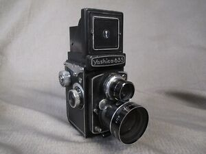 YASHINON AUX. WIDEANGLE VIEWER and YASHINON AUX. WIDEANGLE Lens for Yashica TLR