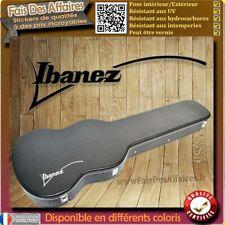 sticker autocollant Ibanez Guitare étuis décoration decal Case guitare
