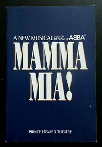 Mamma Mia! programme Prince Edward Theatre June 2003 ed. Louise Plowright