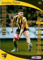 ✺New✺ 2020 HAWTHORN HAWKS AFL Card JONATHON PATTON Teamcoach