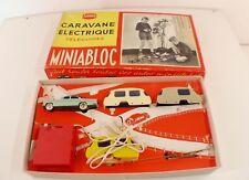 Miniabloc Jouets ADOR Poitiers Coffret Caravane ELECTRIQUE téléguidée CIJ rare
