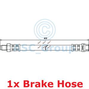Apec BRAKING 413mm Bremsscheiben Bremssattel Flexible Gummi Schlauch HOS3331