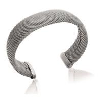 Bracelet Jonc rigide ouvert en acier Inoxydable Bijoux