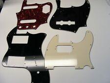 Fender Telecaster Deluxe, Tele, Jaguar, Jazz Bass Pickguards. Luthier Project
