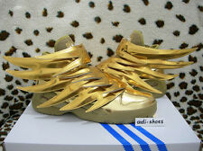 ADIDAS JEREMY SCOTT JS WINGS 3.0 GOLD US 4,5-6,5 floral B35651 rainbow flag asap