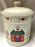 PREFERRED STOCK KITCHENWARE MADE IN TAIWAN CERAMIC CANISTER WITH LID CREAM COLOR