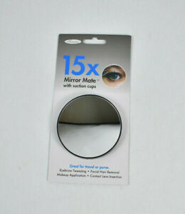 NEW Floxite Mirror Mate 15x Magnification with Suction Cups