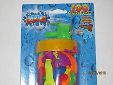 Water Balloon Bombs w/Water Valve - Summer Picnics Pool Parties Outdoor Play Toy